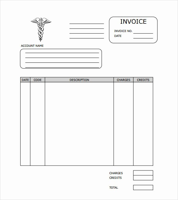 9 Medical Invoice Templates – Free Samples Examples