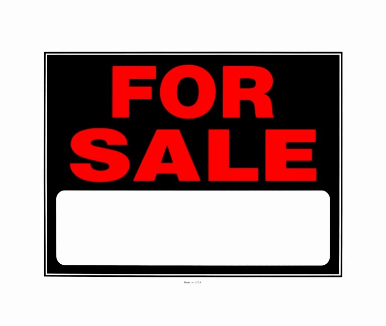 9 Printable Car for Sale Sign Template Aytey