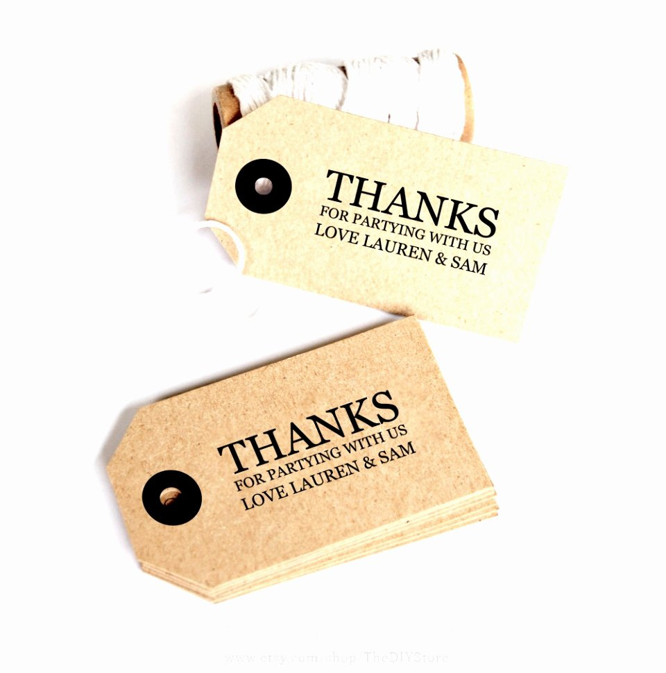 9 Printable Wedding Favor Tags Template Iwetr