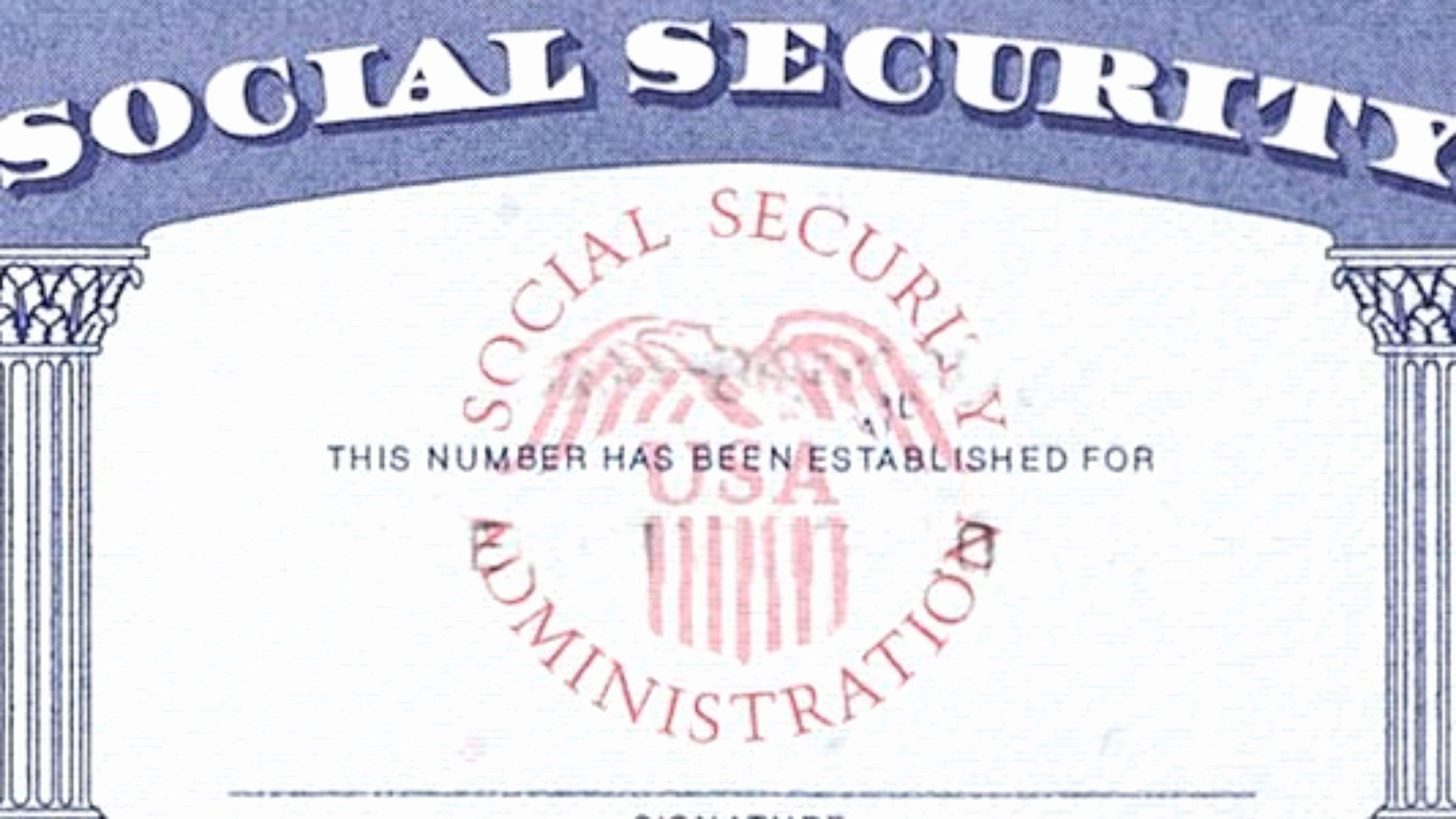 9 Psd social Security Cards Printable social