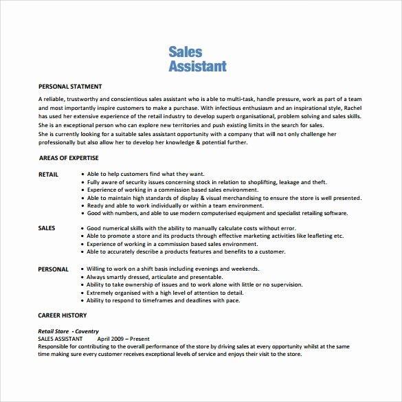 9 Sales associate Resumes – Samples Examples & format