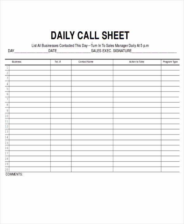 9 Sales Sheet Templates Free Sample Example format