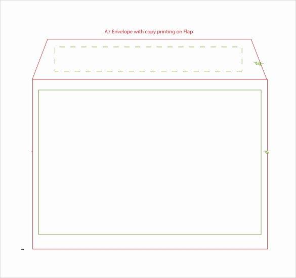 9 Sample A7 Envelopes