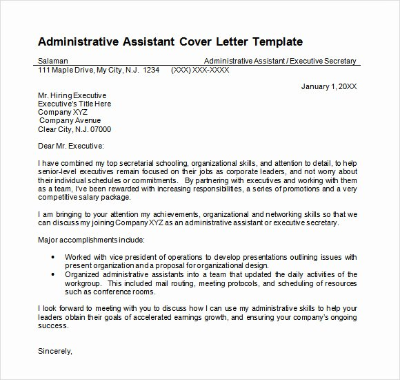 9 Sample Administrative Assistant Resume Templates To