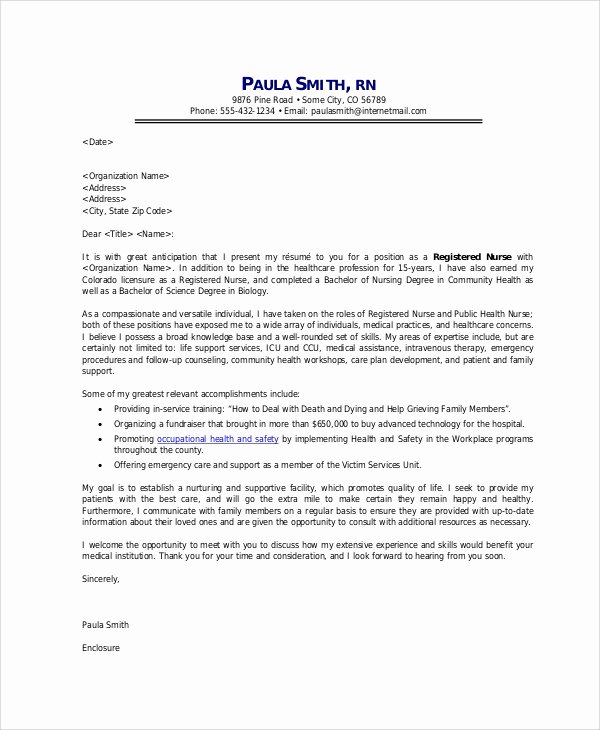 9 Sample Application Cover Letters
