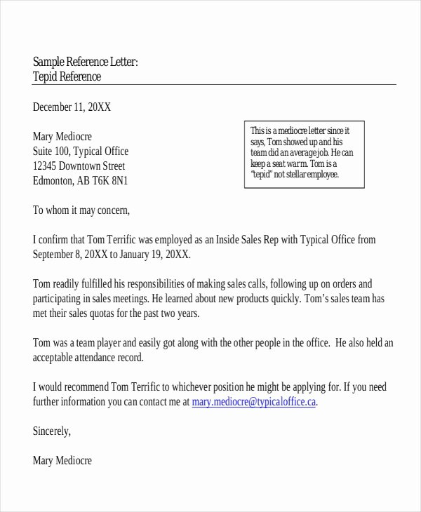 9 Sample Character Reference Letter Templates Pdf Doc