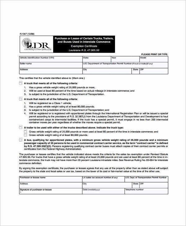9 Sample Mercial Truck Lease Agreements – Pdf Word