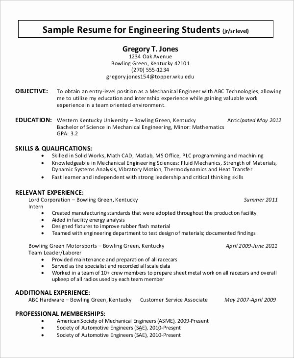 9 Simple Resume Examples