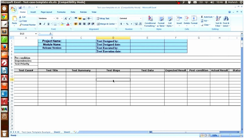 9 software Test Plan Template Excel Rapit