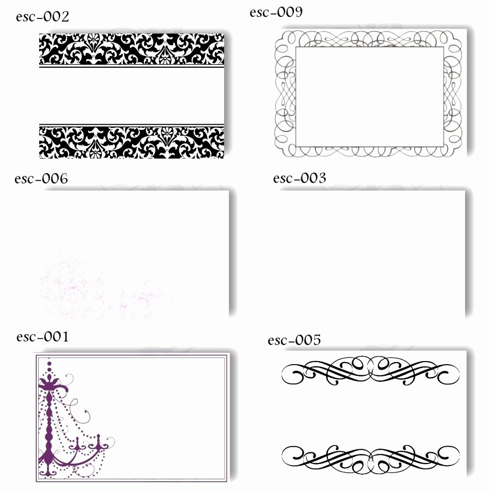 9 Table Place Cards Template Word Rawoz