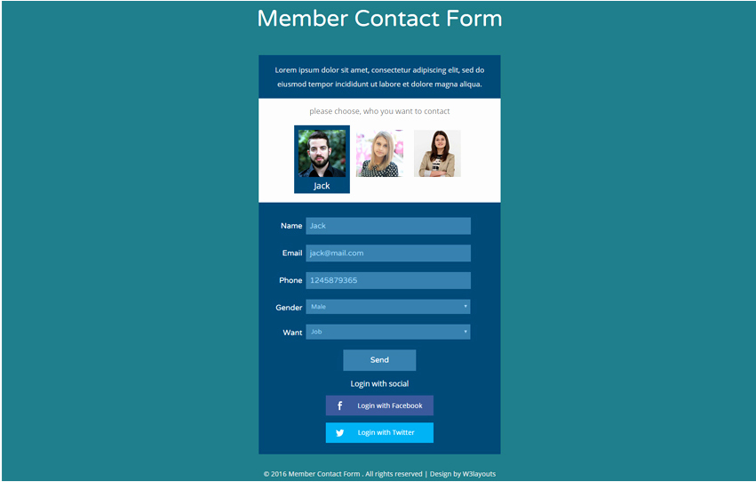 90 Best Free HTML5 form Templates 2018