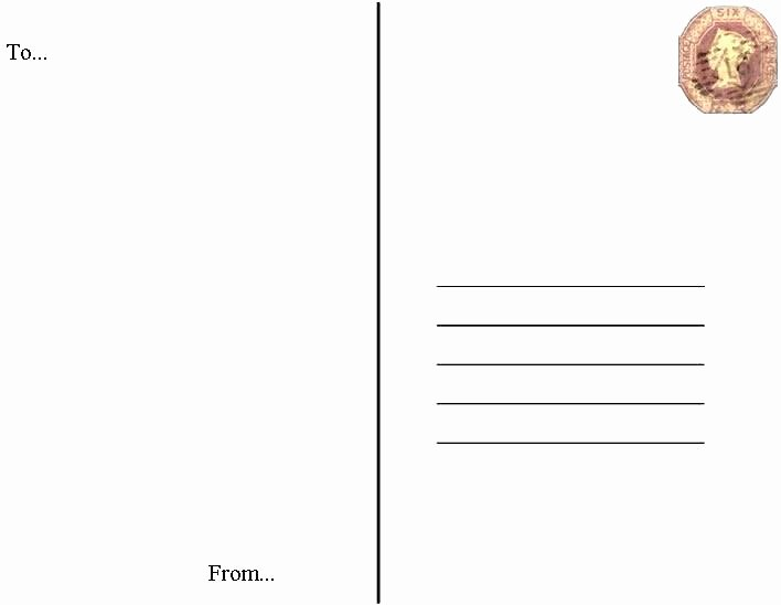 91 Postcard Template 5x7 5x7 Postcard Template for Word