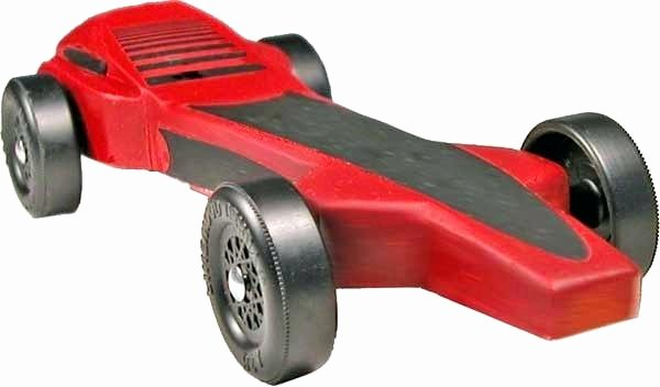 94 Aerodynamic Pinewood Derby Car Templates Bsa