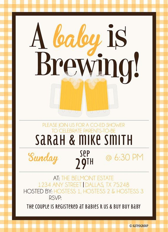 943 Best Baby Shower Invites Images On Pinterest