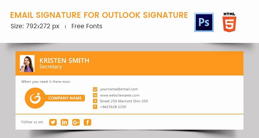 96 Responsive Email Signatures