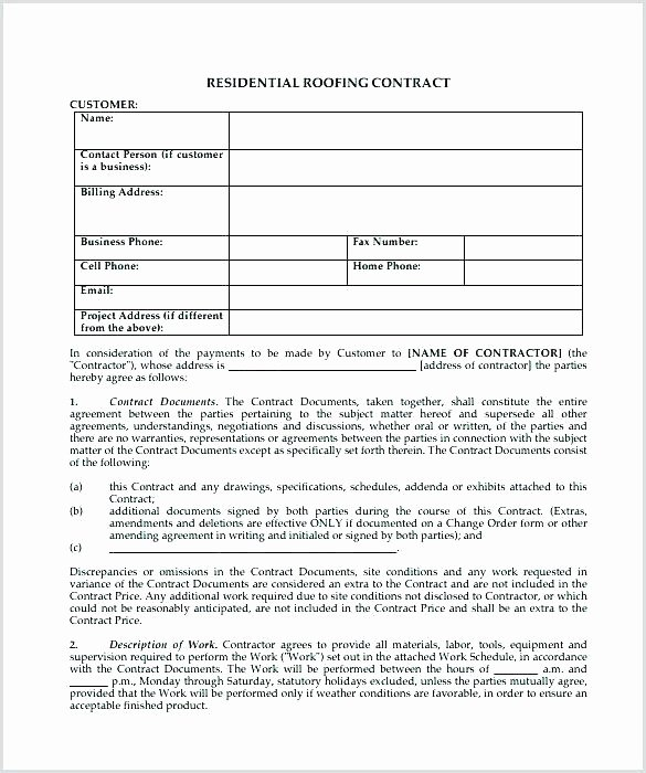 97 Remodeling Contract forms Remodeling Contracts