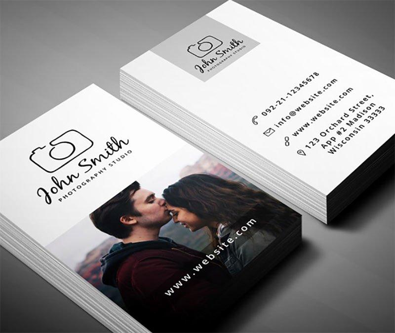 99 Free Business Card Psd Templates