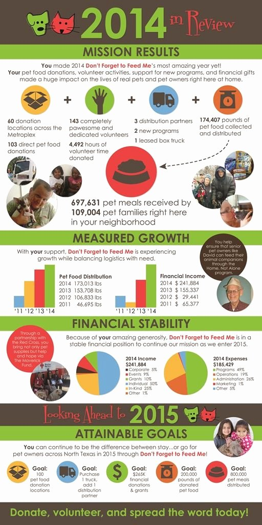 A Great Nonprofit Annual Report In A Fabulous Infographic
