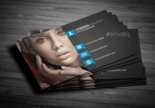 A List Of Exceptional Graphy Business Card Templates