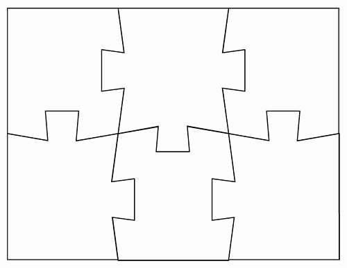 A Puzzle Piece Template May E In Handy In the Classroom
