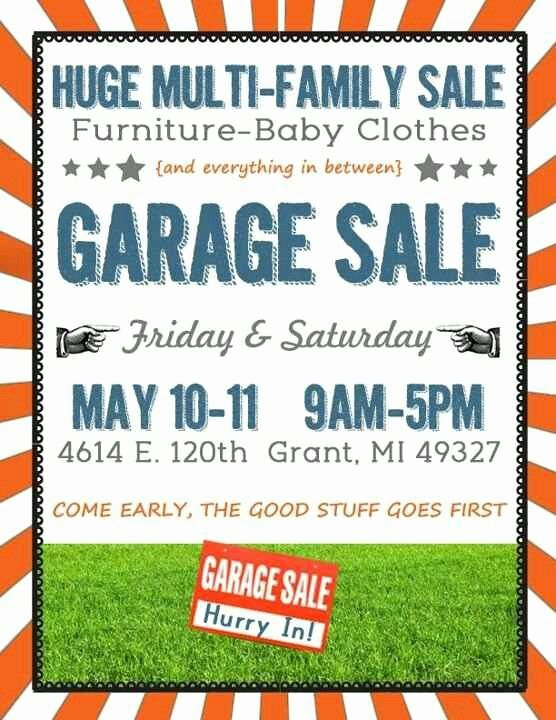 A Yard Sale Sign Yard Sale Pinterest