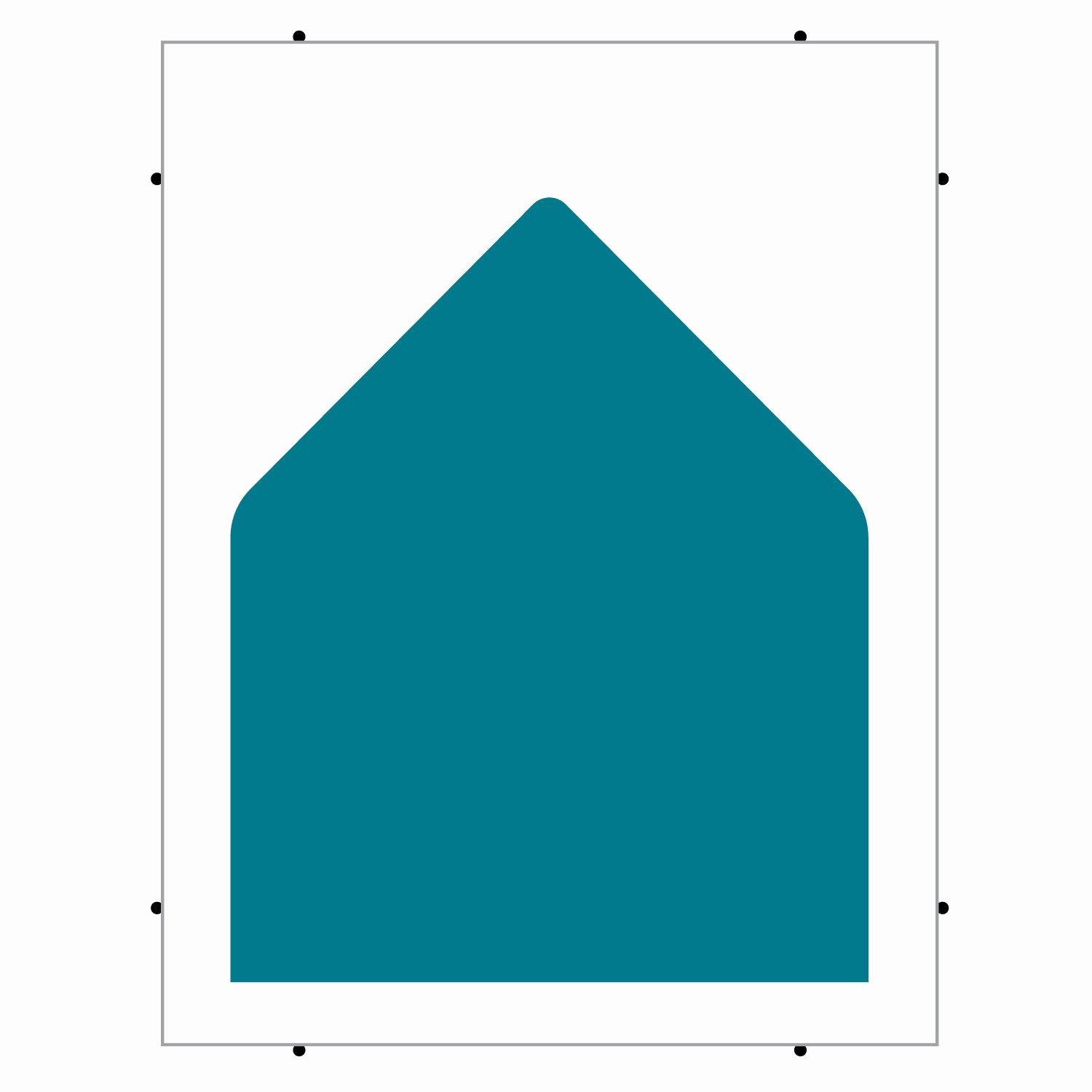 A2 Envelope Size Template Templates Station