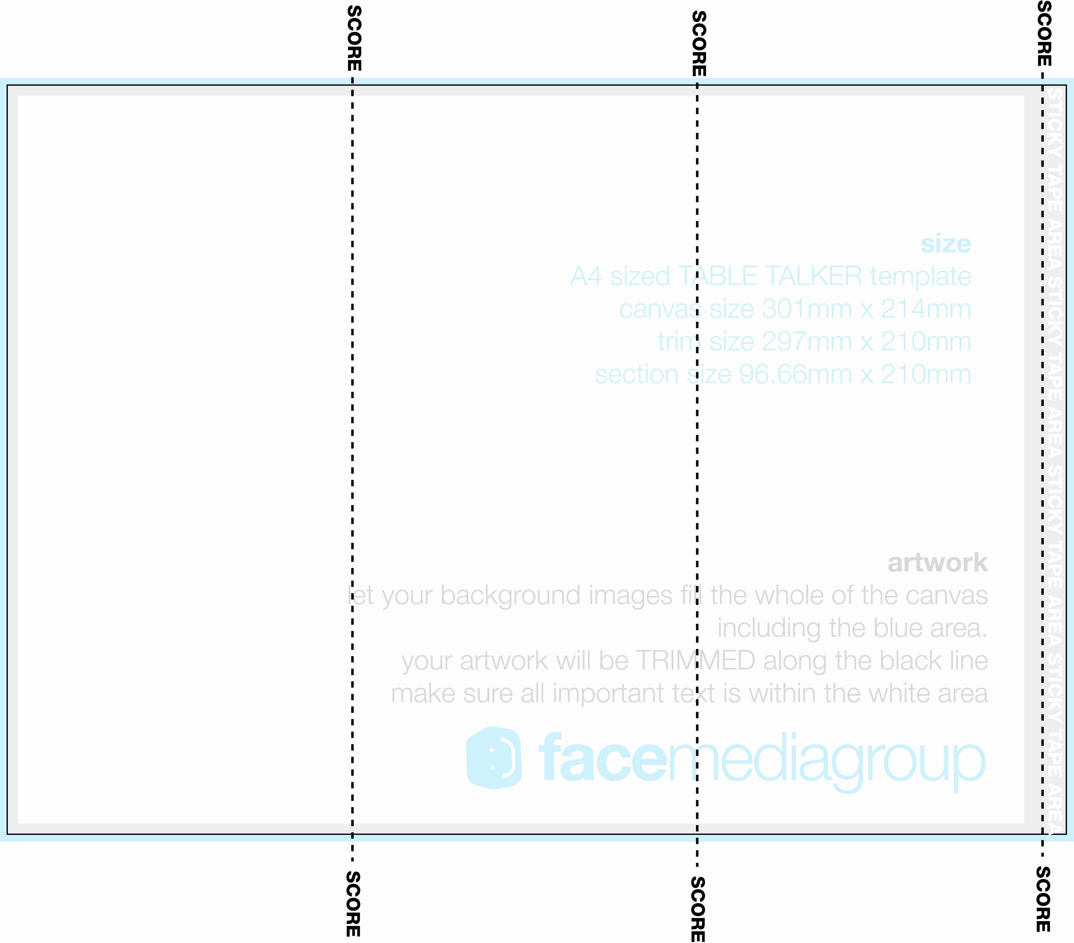 A4 Tri Fold Brochure Template Free Templates Resume