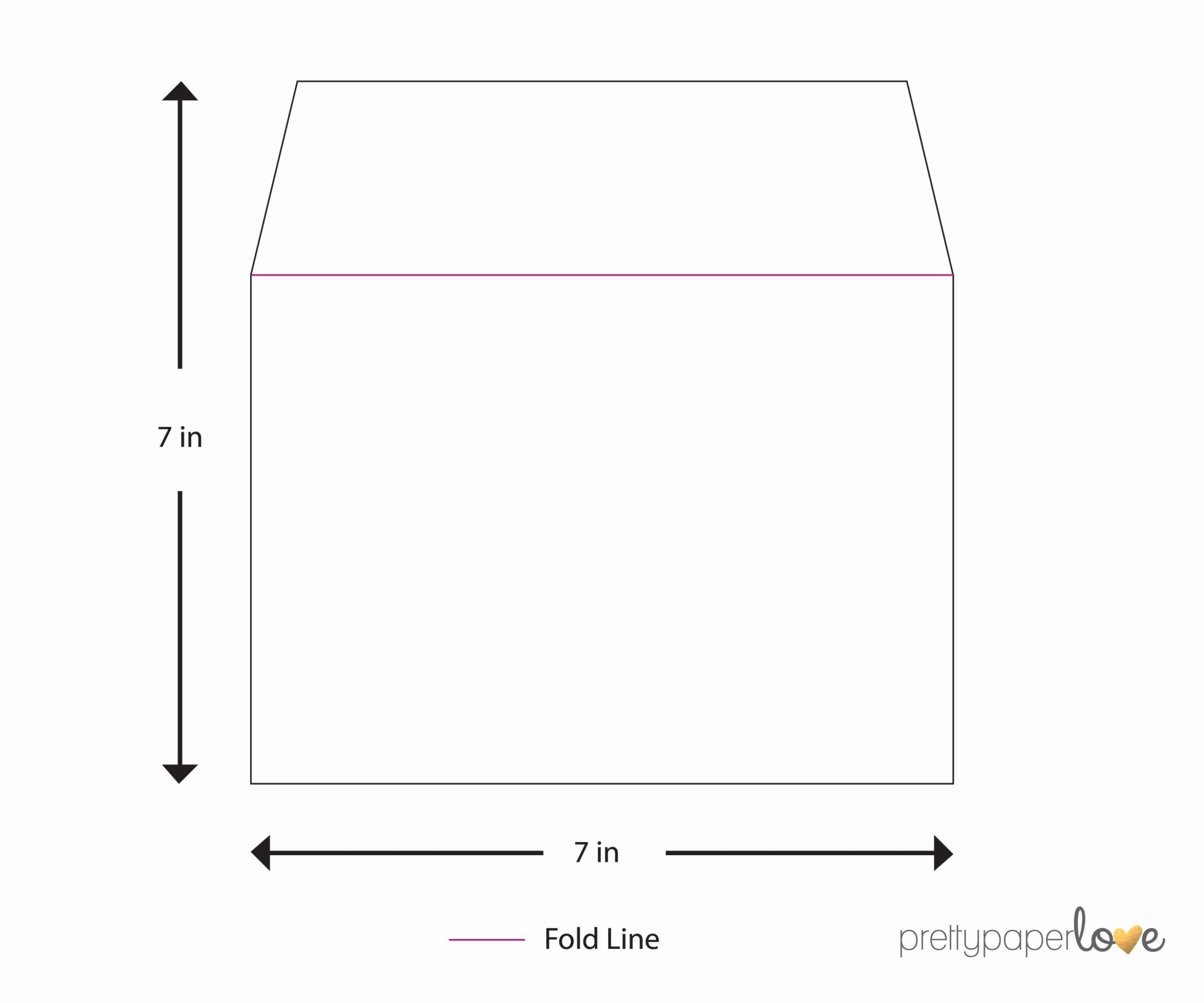 A7 Envelope Printing Template Sampletemplatess