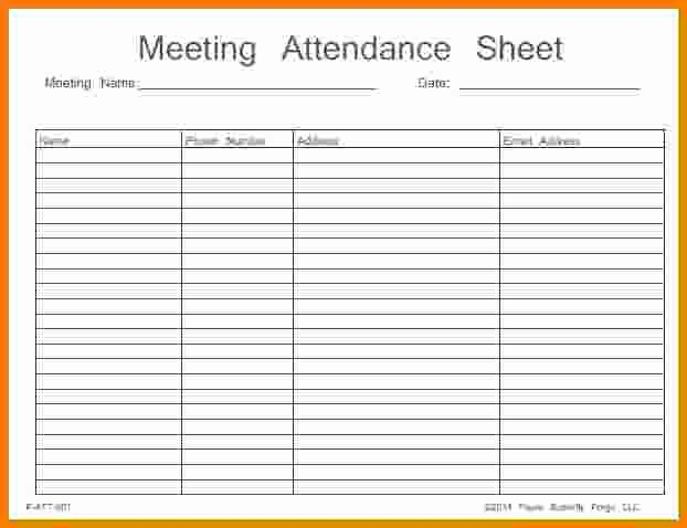 Aa Meeting attendance Sheet Free Download Aashe