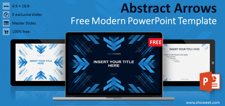 Abstract Arrows Powerpoint Template