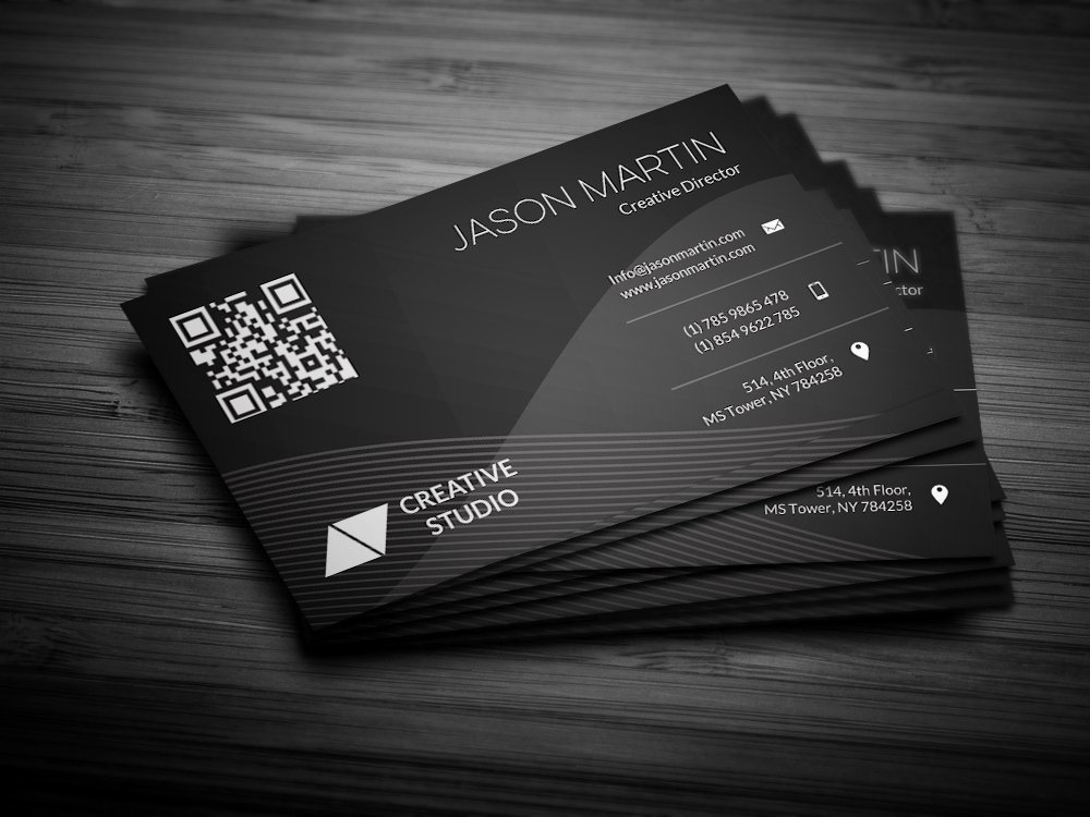 Abstract Background Business Card Business Card