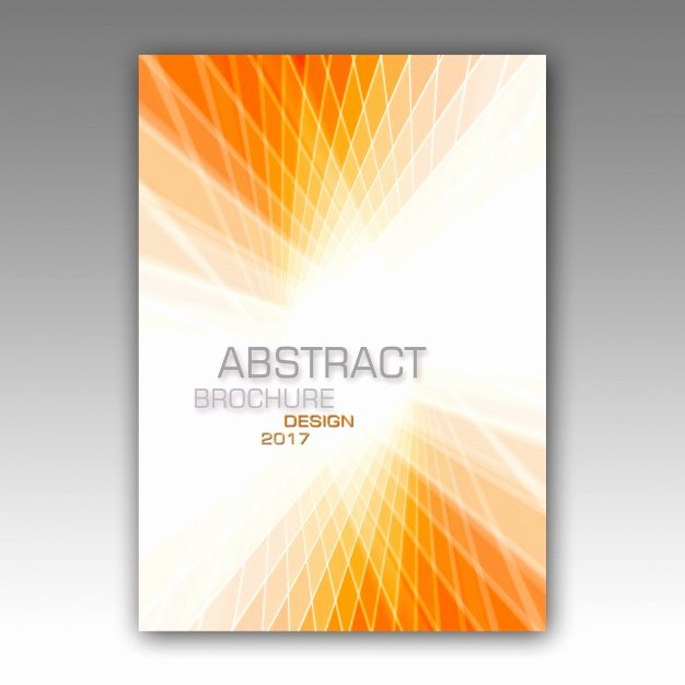 Abstract Brochure Template Psd File