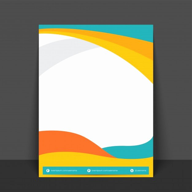 Abstract Flyer Template or Banner Design with Colorful