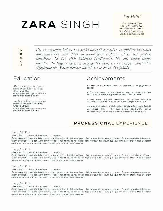 Ac Plishments A Resume Resume Ideas