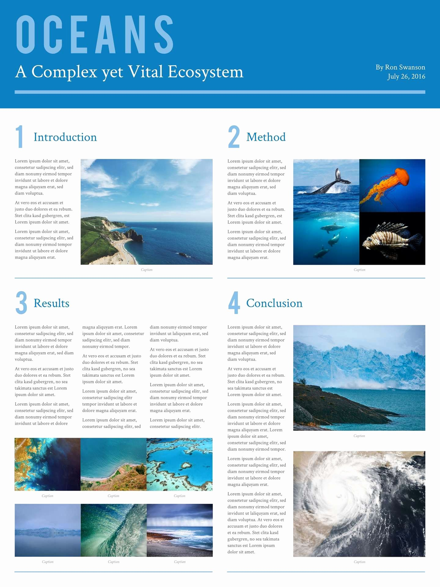 Academic Poster Template Powerpoint A0 Templates Data