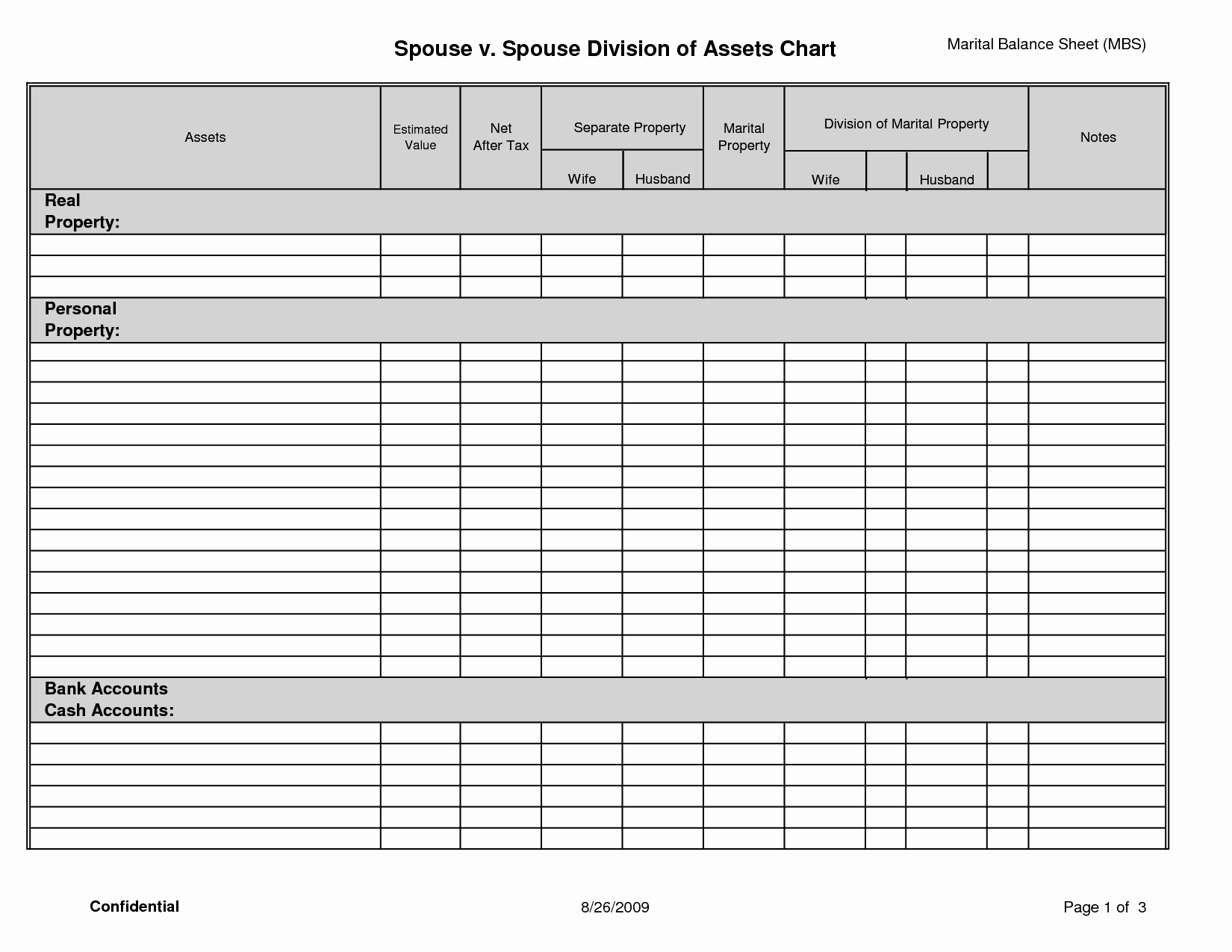 Accounting Balance Sheet Template Example Mughals