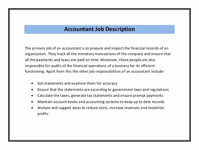 Accounting Resume Sample Pdf
