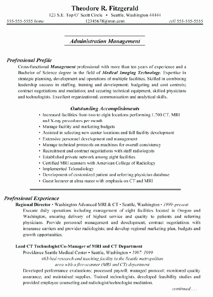 Activities Director Resume Best Resume Collection