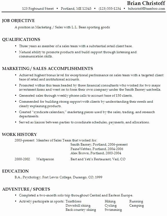 Activities Resume Best Resume Collection