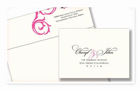 Addressing Wedding Rsvp Envelopes Coordinating Return and