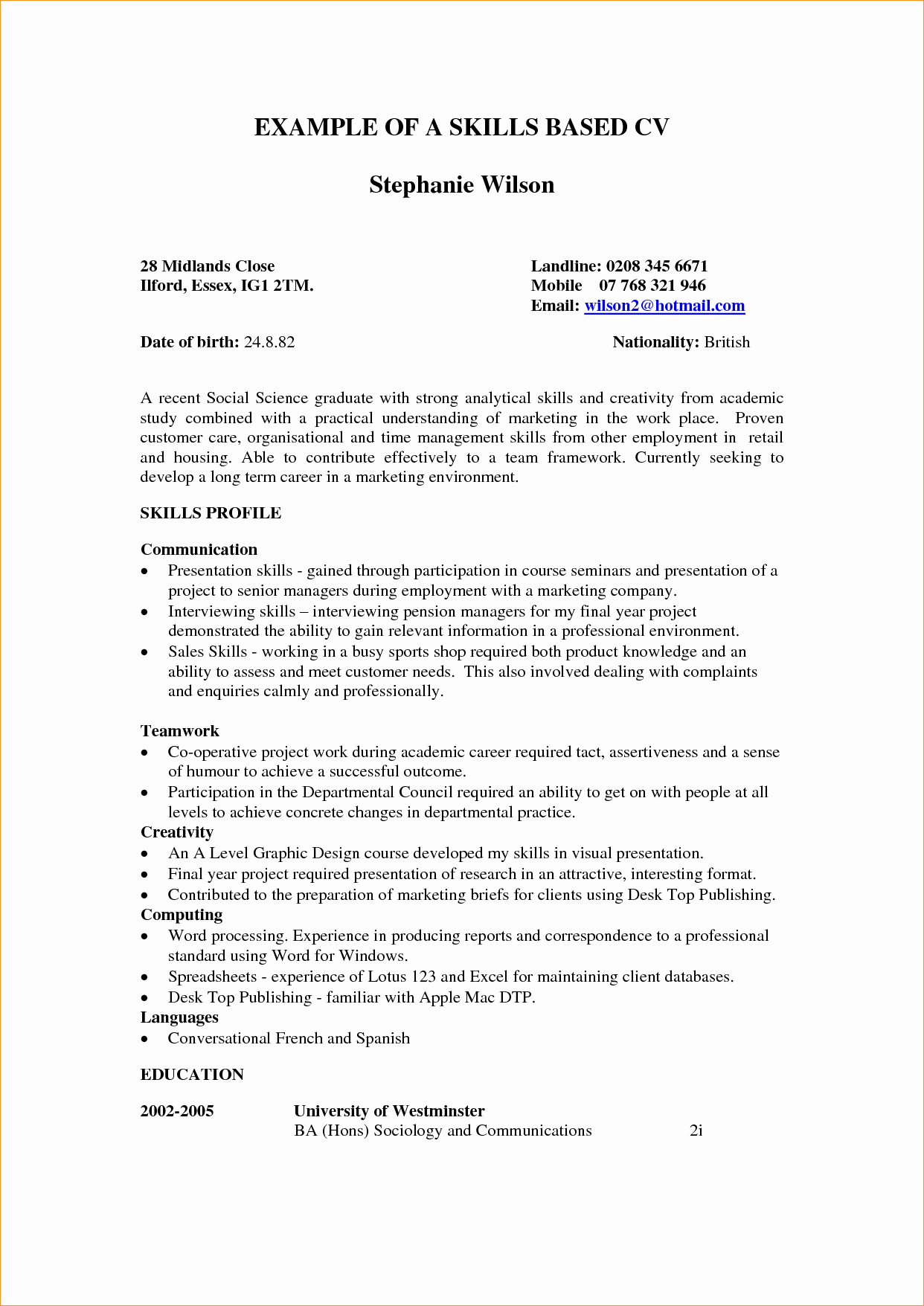 Administrative assistant Skills Resume – Resume Template Ideas