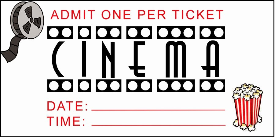 Admit E Movie Ticket Template Free Clipart
