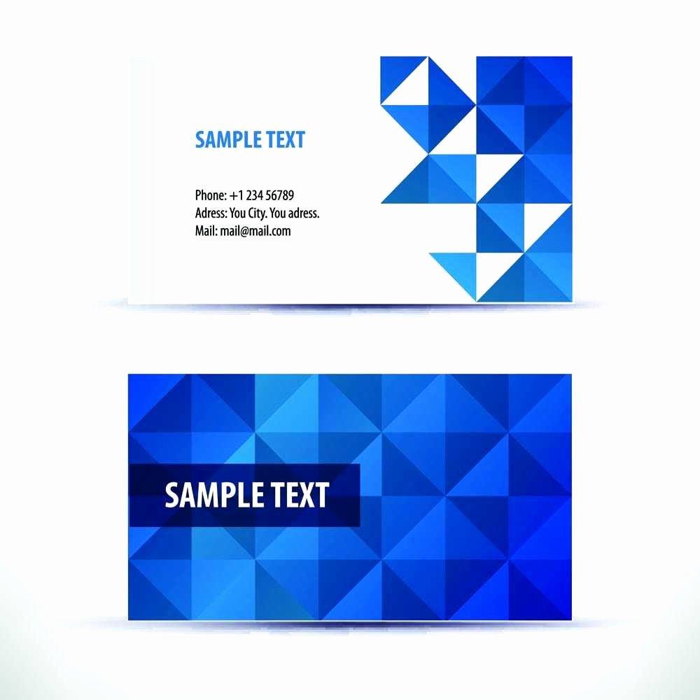 Adobe Illustrator Business Card Template Free Fresh