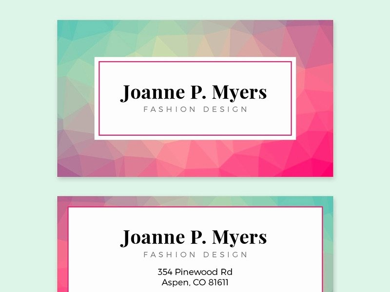 Adobe Illustrator Business Card Templates Free
