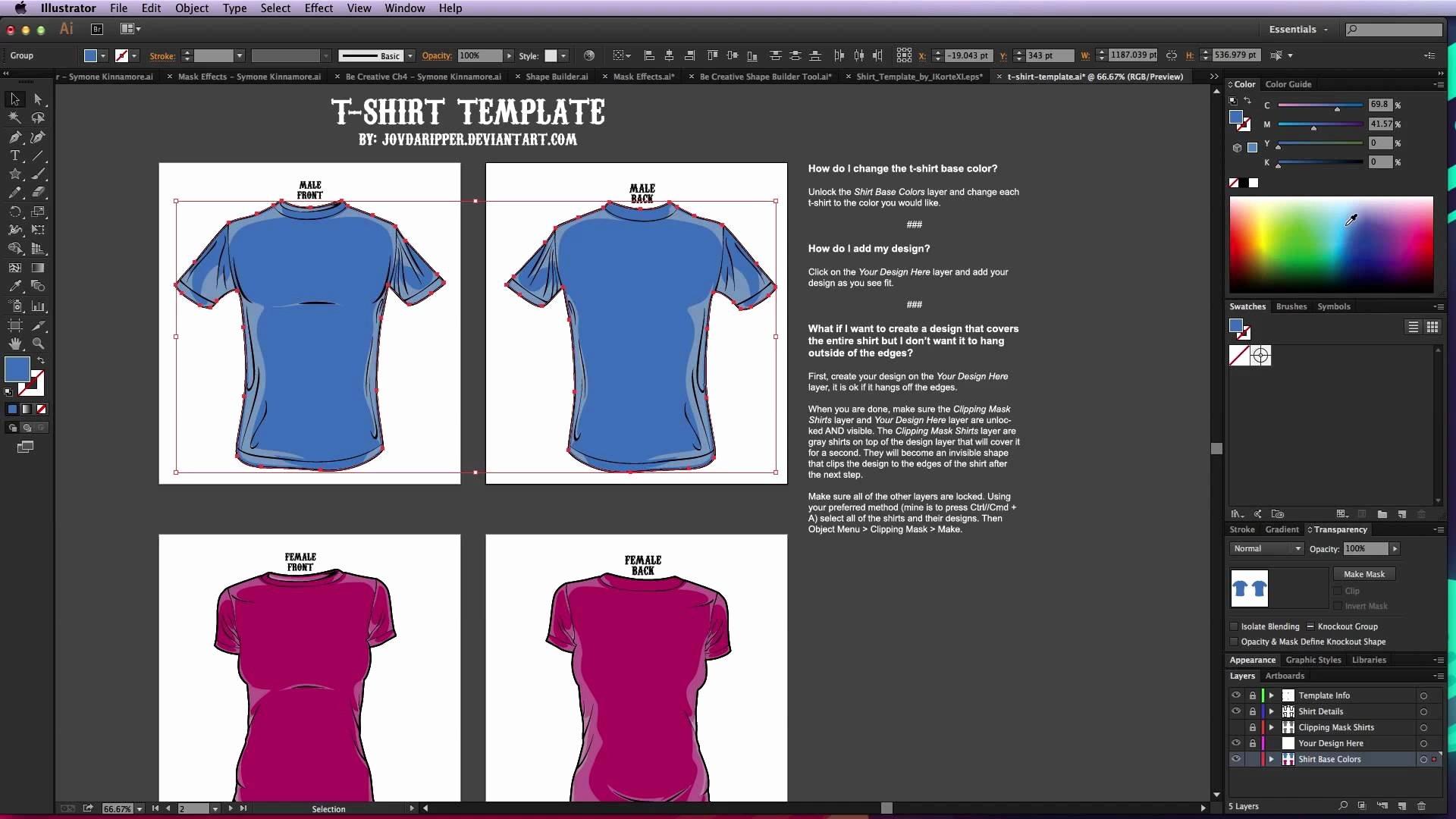 Adobe Illustrator T Shirt Design Template Templates Data