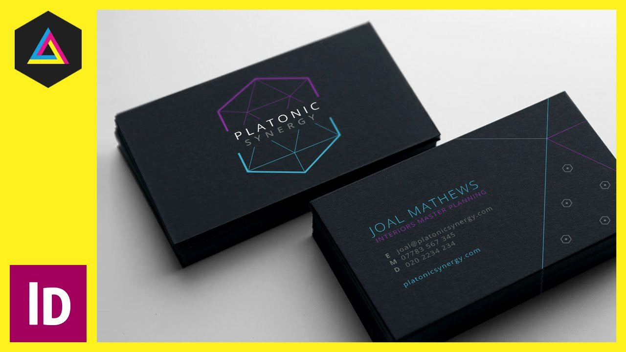 Adobe Indesign Business Card Template Business Card