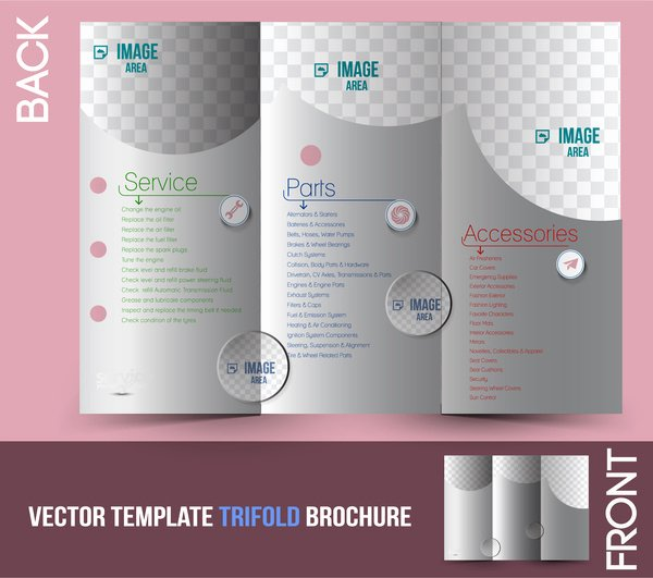 Adobe Tri Fold Brochure Template Trifold Brochure Template