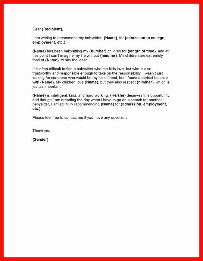 Adoption Referral Letter