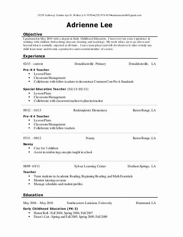 Adrienne Lee Resume
