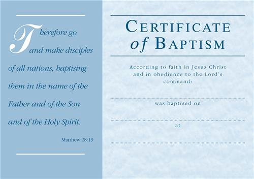 Adult Baptism Certificate Women Fatties